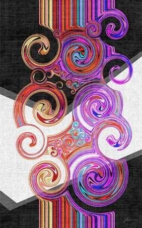 Twirl II Digital Print by Burghardt, James,Abstract