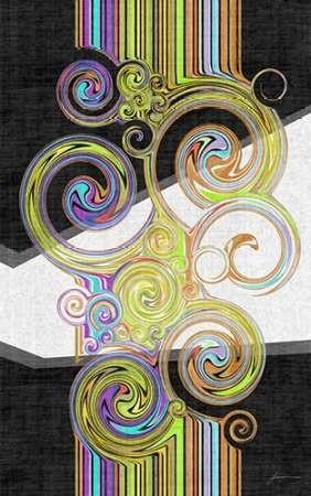 Twirl IV Digital Print by Burghardt, James,Abstract