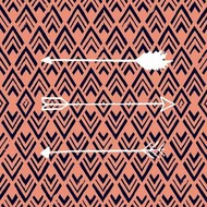 Deco Arrow II Digital Print by Studio W,Decorative