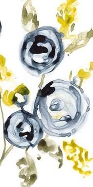 Navy Anemone II Digital Print by Goldberger, Jennifer,Expressionism