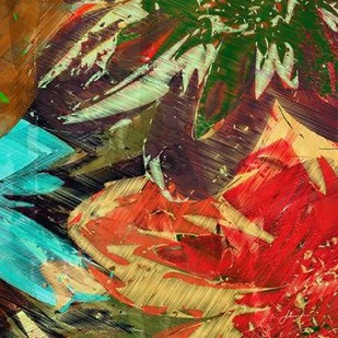 Floragraph I Digital Print by Burghardt, James,Abstract