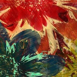 Floragraph II Digital Print by Burghardt, James,Abstract