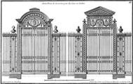 Custom Neufforge Gate Blueprint II Digital Print by Neufforge,Illustration
