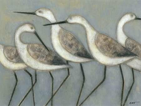 Shore Birds I Digital Print by Wyatt Jr., Norman,Decorative