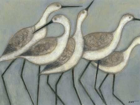 Shore Birds II Digital Print by Wyatt Jr., Norman,Decorative