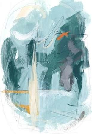 Rhythm Rhapsody II Digital Print by Vess, June Erica,Abstract