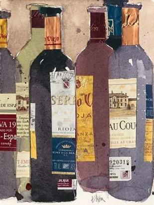Red Wine Tasting II Digital Print by Dixon, Samuel,Decorative