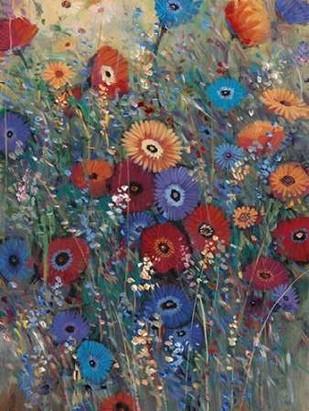 Flower Patch II Digital Print by Otoole, Tim,Impressionism