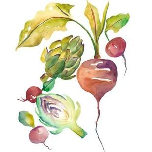 Harvest Medley VI Digital Print by Zarris, Chariklia,Decorative