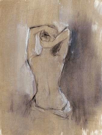 Contemporary Draped Figure I Digital Print by Harper, Ethan,Impressionism