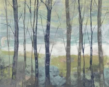 Pastel Birches I Digital Print by Goldberger, Jennifer,Impressionism