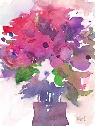 Between the Red I Digital Print by Dixon, Samuel,Impressionism