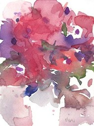 Between the Red II Digital Print by Dixon, Samuel,Impressionism