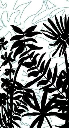 Rainforest Ferns II Digital Print by Fagalde, Jarman,Decorative
