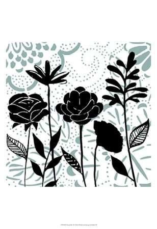 Floral Mist II Digital Print by Studio W,Decorative