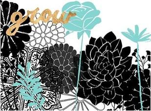 Lacy Garden I Digital Print by Studio W,Decorative