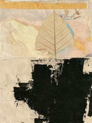 Modern Leaf II Digital Print by Ray, Elena,Abstract