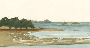Spa Coastline I Digital Print by Miller, Dianne,Impressionism