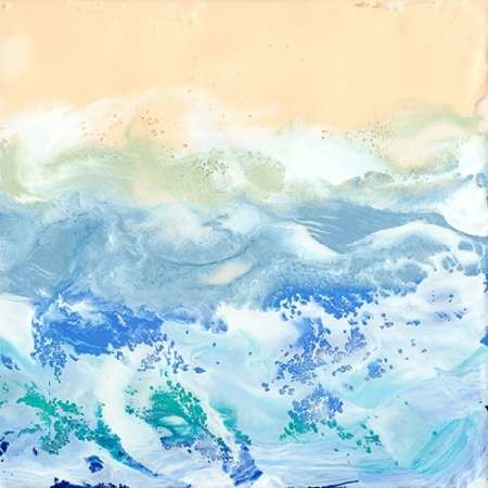 Morning Surf I Digital Print by Ludwig, Alicia,Abstract