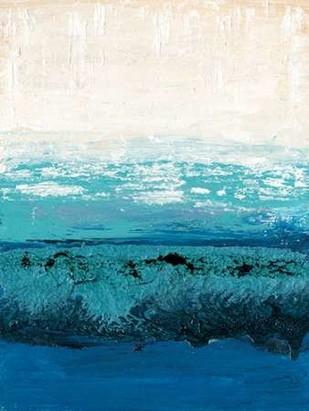 Sapphire Cove II Digital Print by Ludwig, Alicia,Impressionism