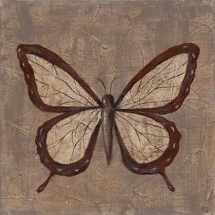 Textured Butterfly II Digital Print by Reynolds, Jade,Decorative