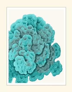 Blue Underwater Scenes 2 e Digital Print by Fab Funky,Decorative