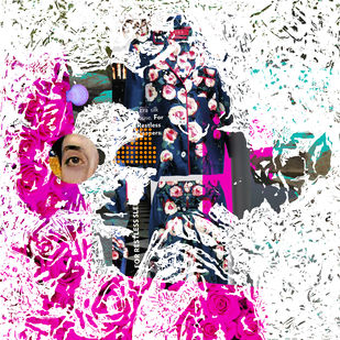 Love, Fashion and more - II by Sayak Mitra, Digital Digital Art, Digital Print on Archival Paper, Pink color