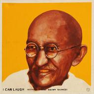 19476  sajal sarkar  swadeshi  acrylic on canvas  24 x 24 inch  l. r. in english  2012