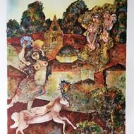 Sakti burman litho 05 29 x 21 inches edition of 140 inr 41000