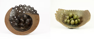 Untitled by Milan SIngh, Decorative Sculpture | 3D, Ceramic, White color