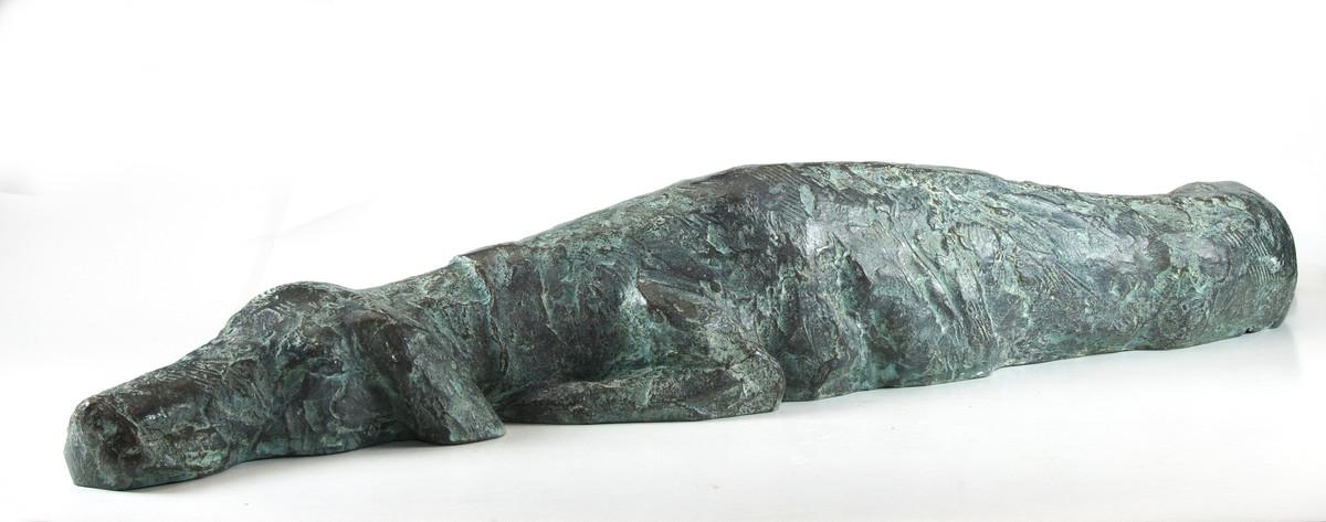Untitled by Sunil Kumar Das, Decorative Sculpture | 3D, Bronze, White color