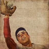 Vintage Sports VIII Digital Print by Butler, John,Realism
