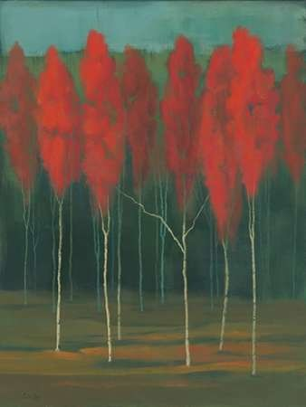 Autumn Splendor Digital Print by Joy, Julie,Impressionism