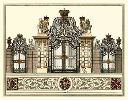 The Grand Garden Gate I Digital Print by Kleiner, O.,Realism