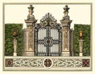 The Grand Garden Gate III Digital Print by Kleiner, O.,Realism