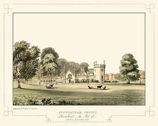 Lancashire Castles III Digital Print by Greenwood, C.J.,Realism