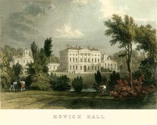 Hewick Hall Digital Print by Allom, T.,Realism