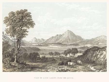 View of Loch Lomond Digital Print by Unknown,Illustration