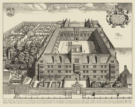 Cambridge View Digital Print by unknown,Illustration