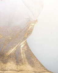 Gold Fusion VI Digital Print by Contacessi, Julia,Decorative