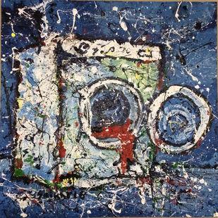 Washing Machine Digital Print by Saikat Chakraborty,Impressionism