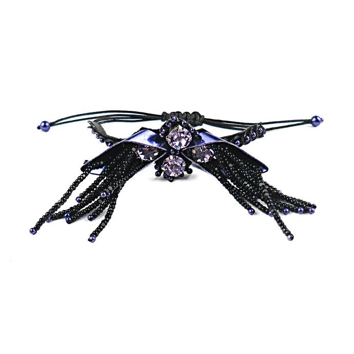 CHIC BRACELET PURPLE by BEGADA, Contemporary Bracelet