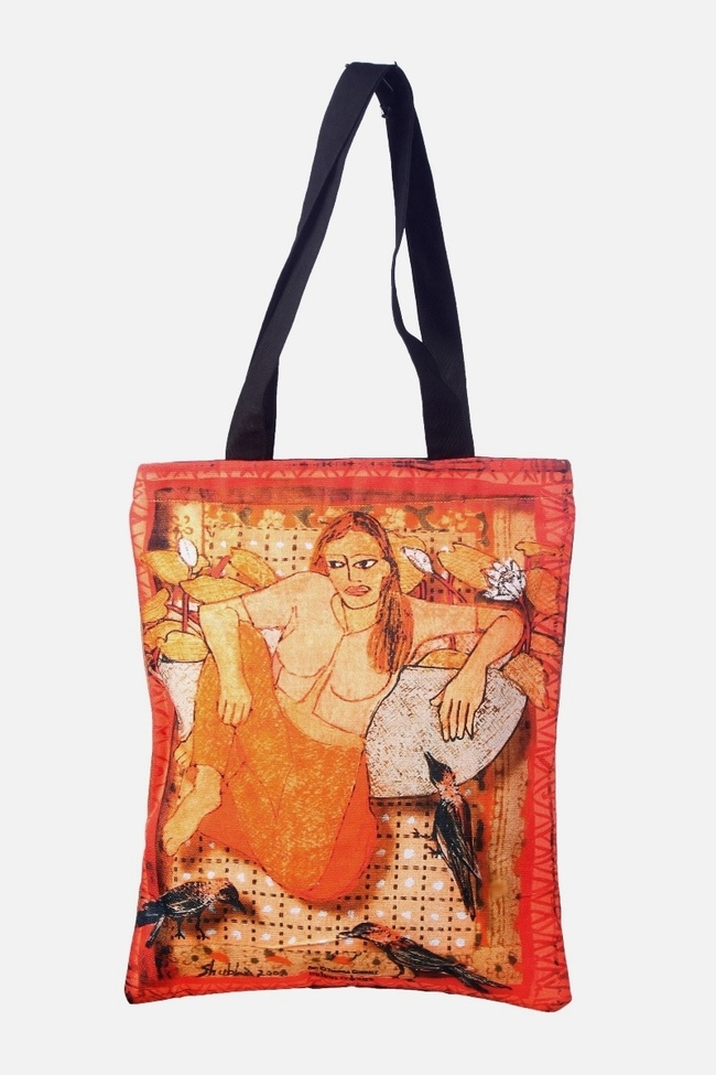 Tote bag by Shubha Gokhale Bags By indian-colours