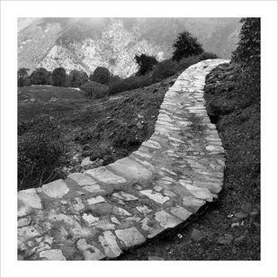 Untitled by Mohan L. Mazumder, Image Photography, Giclee Print on Hahnemuhle Paper, Gray color