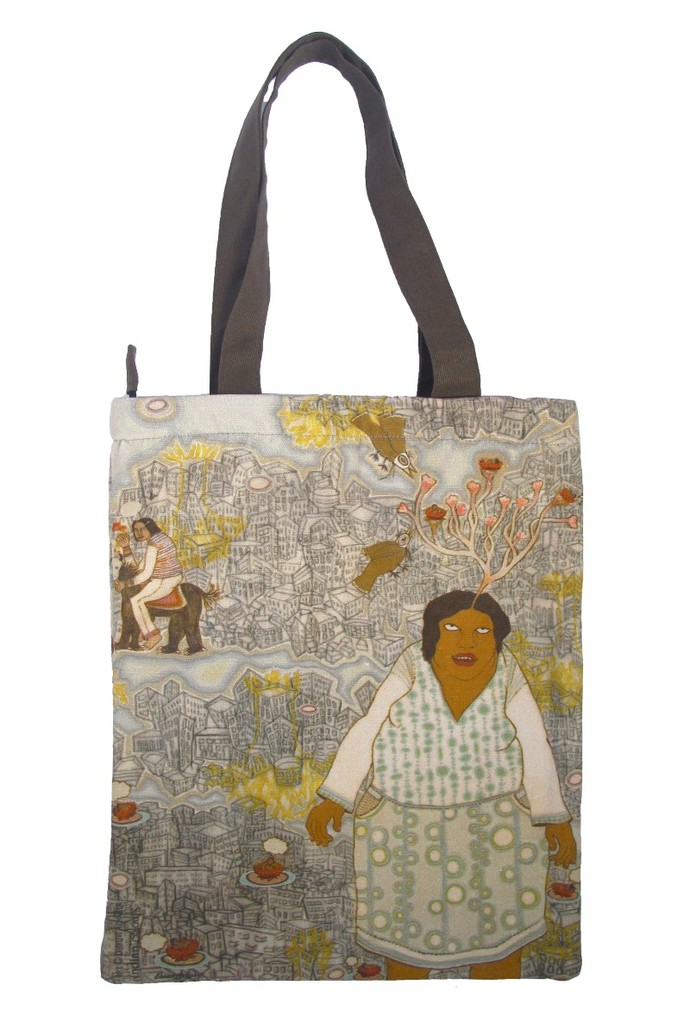 Dhruvi Acharya Tote Bag Bags By indian-colours