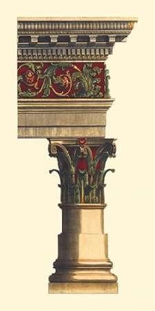 Column and Cornice II Digital Print by Vision Studio,Geometrical