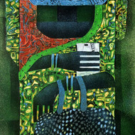 Subhasish das woman 2 12x24 mixed media on canvas 2016 30000
