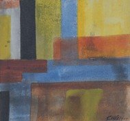 Mother Earth 2 by Karan Meral, Abstract Painting, Acrylic on Canvas, Brown color
