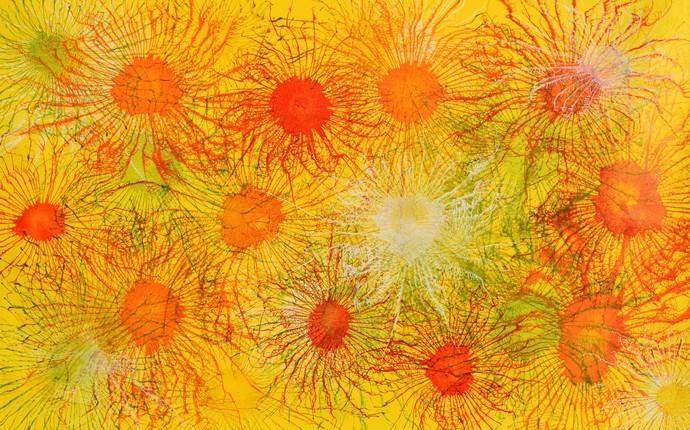 Exploflora Series No. 7 Digital Print by Sumit Mehndiratta,Expressionism