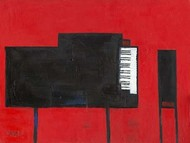 The Piano Digital Print by Dixon, Samuel,Decorative